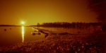 Pinholed sunset in redscale1