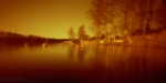 Pinholed sunset in redscale3